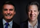 Datafolha e Ibope apontam Bolsonaro e Haddad no 2º turno (Foto: Arte/UOL)