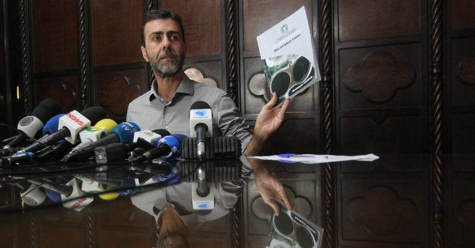 O deputado Marcelo Freixo (PSOL) comenta a nova ameaça de morte contra ele descoberta pela Polícia Civil