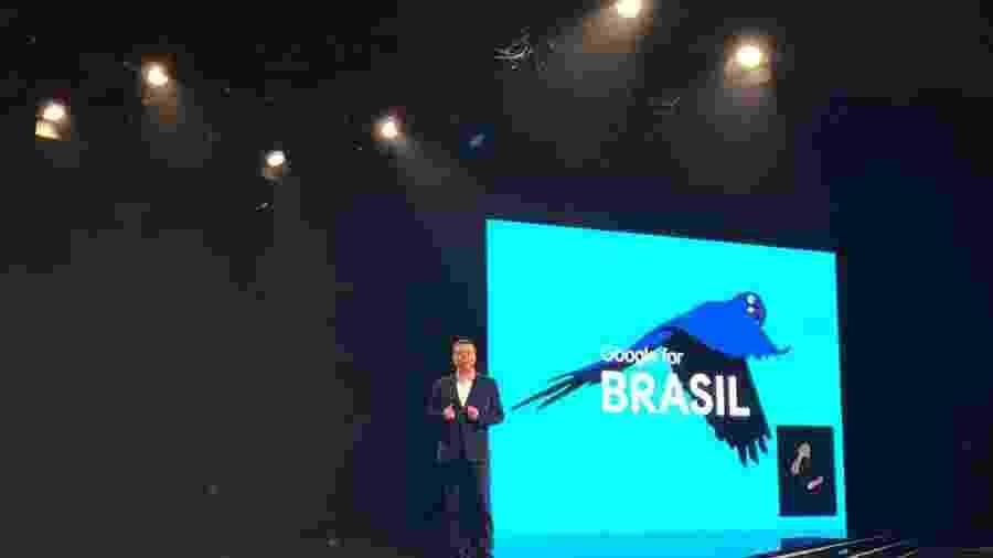 Fábio Coelho, presidente do Google no Brasil, apresenta a chegada da plataforma de wi-fi gratuito da empresa ao país - Bruza Souza Cruz/UOL