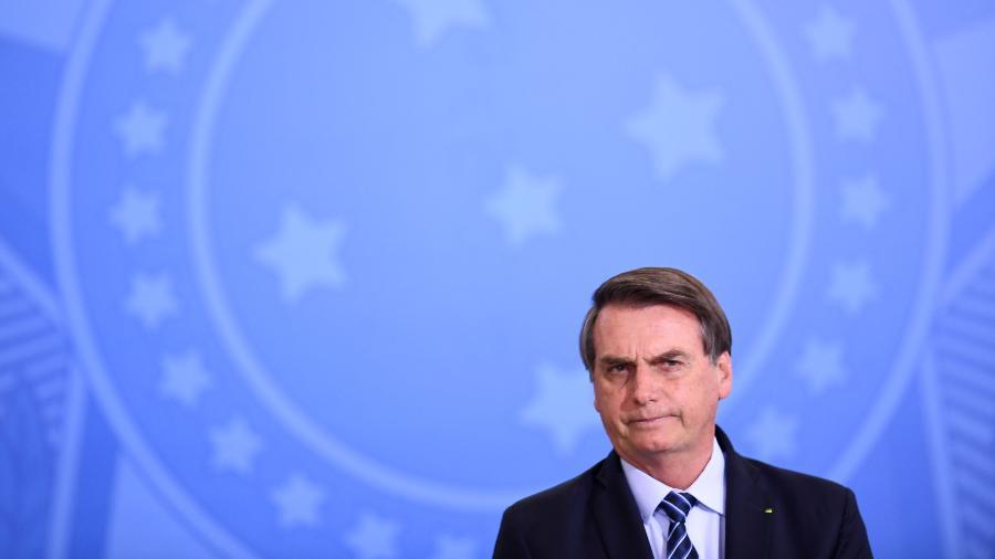O presidente Jair Bolsonaro - Evaristo Sá/AFP