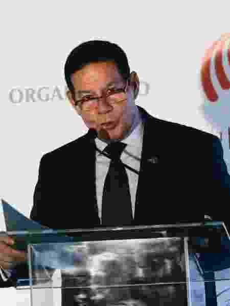 O vjce-presidente, Hamilton Mourão - Leco Viana/TheNews2/Estadão Conteúdo