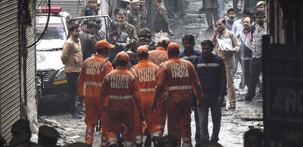 Tragédia | Incêndio em fábrica da Índia deixa 43 mortos