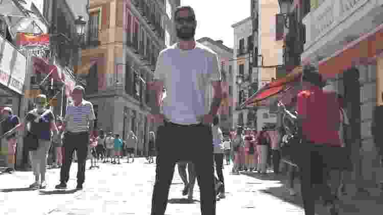 Gabriel Spiewak, em Madri - Arquivo pessoal - Arquivo pessoal