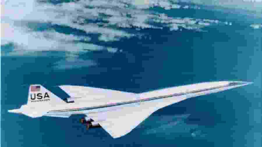 Avião supersônico de passageiros da Boeing atingiria 2,7 vezes a velocidade do som - Divulgação