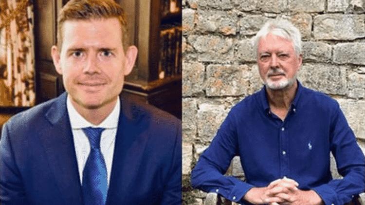 Os pesquisadores Matthew Goodwin e Roger Eatwell - Reprodução