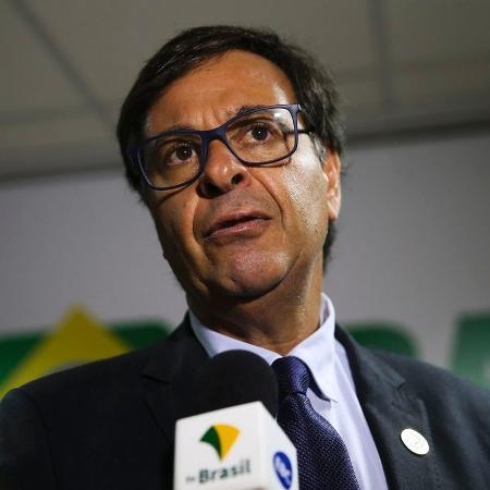 5.set.2019 - O presidente da Embratur, Gilson Machado Neto, durante lançamento da nova identidade visual do Instituto - José Cruz/Agência Brasil