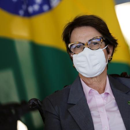 Tereza Cristina, ministra da Agricultura, disse que vai brigar contra cortes na pasta - Adriano Machado/Reuters