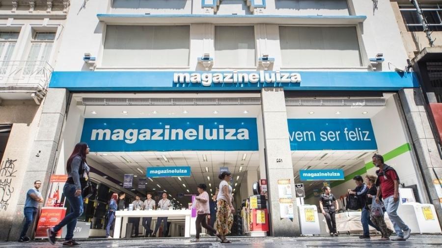 Fachada de loja da Magazine Luiza - Divulgação