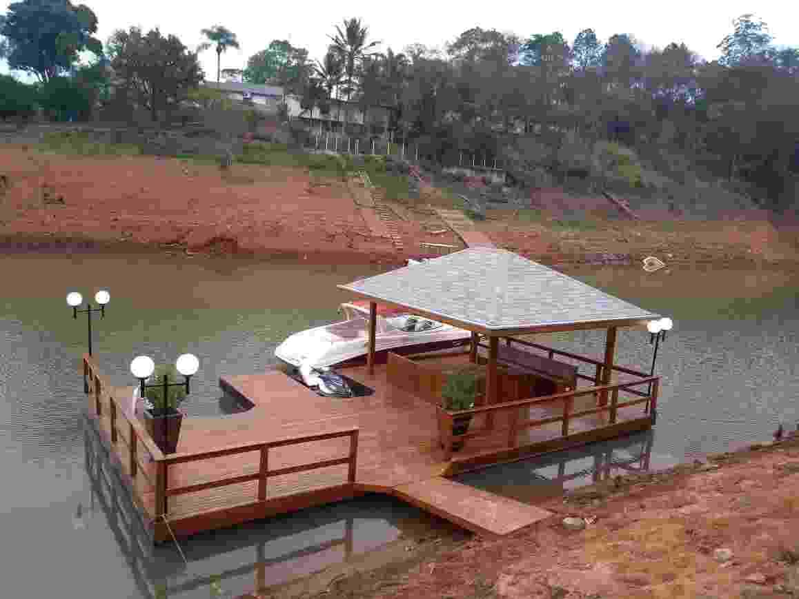 Propriedade alvo de operação da Polícia Federal contra lavagem de dinheiro do PCC - Divulgação/PF