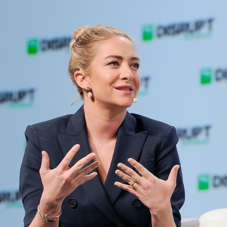 Whitney Wolfe Herd, fundadora e CEO do Bumble, cofundadora do Tinder - Steve Jennings/Getty Images for TechCrunch