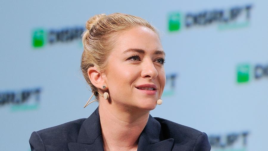 Whitney Wolfe Herd, fundadora e CEO do Bumble, cofundadora do Tinder - Steve Jennings/Getty Images/Wikimedia Commons