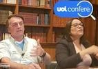 Ao citar Pfizer, Bolsonaro omite acordo por vacina de Oxford ainda em teste (Foto: Reprodução/YouTube Jair Bolsonaro)