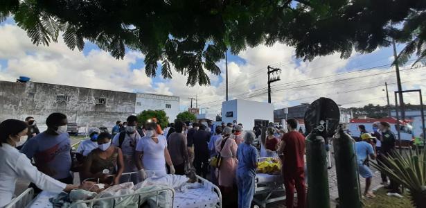 Causa ainda não foi identificada | 4 morrem após fogo na ala de covid de hospital, diz Prefeitura de Aracaju