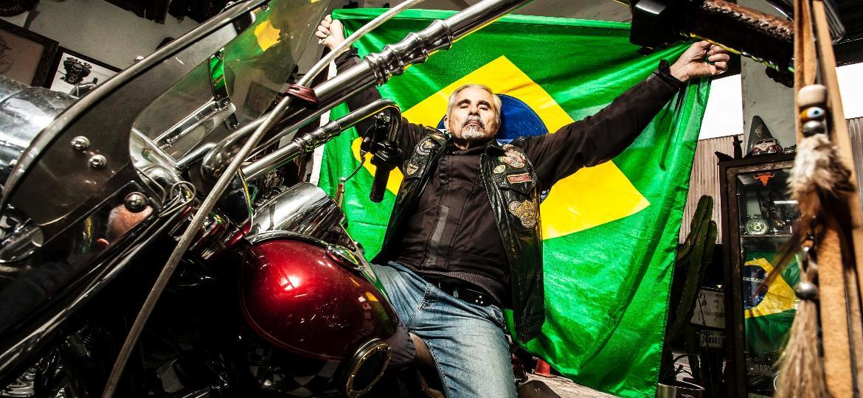 Túlio Siqueira, presidente da Federação de Moto Clubes do Estado de São Paulo - Fernando Moraes/UOL