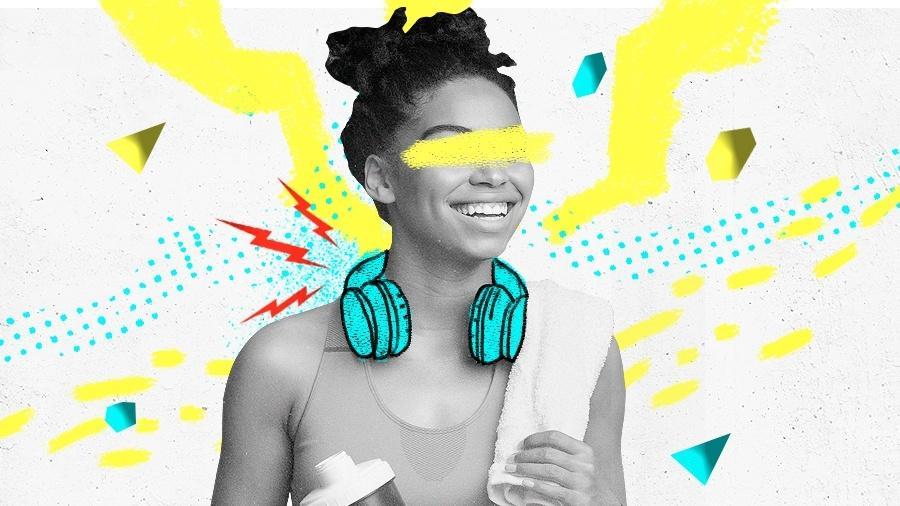 Fones de ouvido mais caros geralmente são mais resistentes contra o suor - Arte UOL
