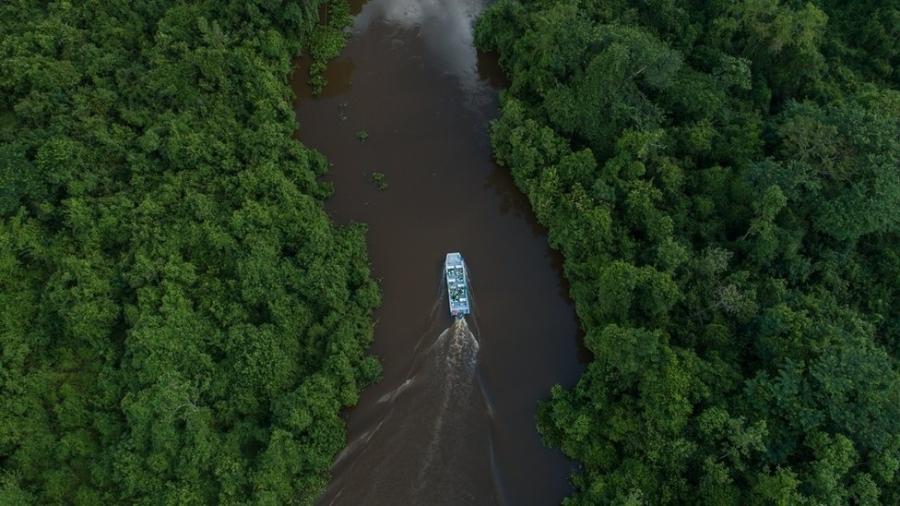 O SESC Pantanal tem mais de 108 mil hectares de área e recebe 30 mil turistas por ano - Divulgação