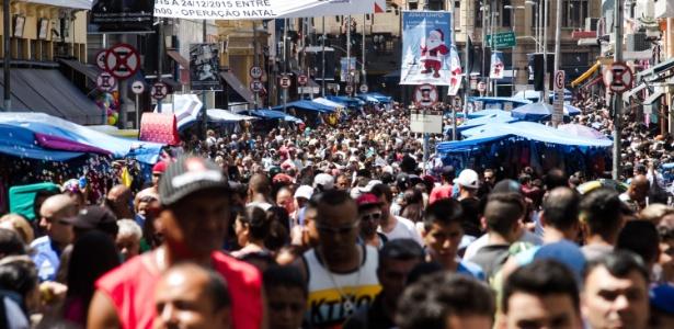 São Paulo é o estado mais populoso do Brasil com 45,5 milhões de habitantes - Dario Oliveira/Código19/Estadão Conteúdo