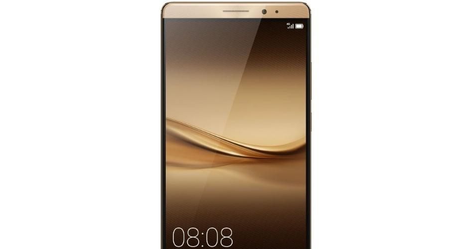 Novo celular da Huawei, o Mate 8 apresentado na CES 2016
