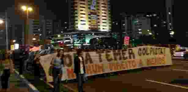 Protestos SC - Reprodução/Facebook - Reprodução/Facebook