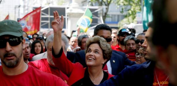 A ex-presidente Dilma Rousseff participou no Uruguai de vários eventos na semana passada