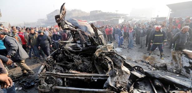 O atentado foi reivindicado pelo grupo terrorista Estado Islâmico