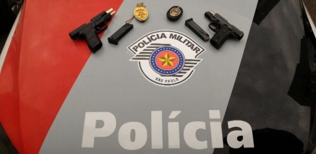 03.ago.2017 - Itens que eram usados pelos falsos policiais civis em SP
