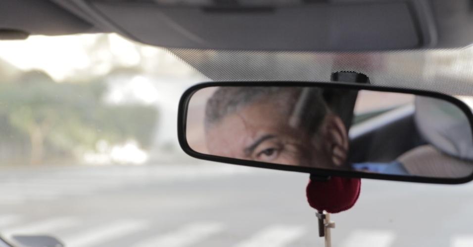 Odesson Alves Ferreira, vítima do acidente, ex-presidente da associação dos afetados pelo acidente e motorista da Uber