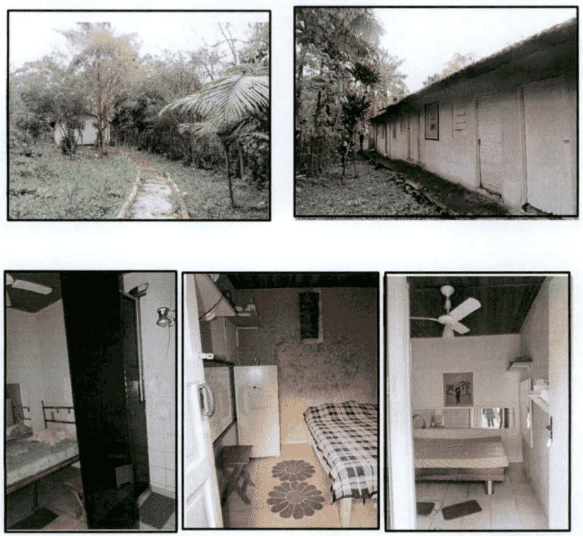 Espaço para visitas íntimas tem quatro e banheiro individuais - Reprodução/MNPCT