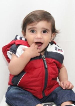 Henzo Gabriel Mariano Silva foi diagnosticado com câncer com um ano de idade