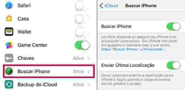 Como localizar um dispositivo Android ou iPhone - tela 3 - Reprodução - Reprodução