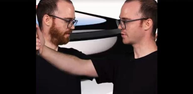 """Matt Stuart, produtor de vídeo do """"Tech Insider"""", testa Face ID do iPhone X, da Apple"""
