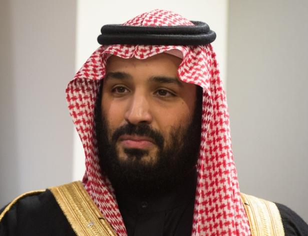 O príncipe saudita Mohammed bin Salman Al Saud