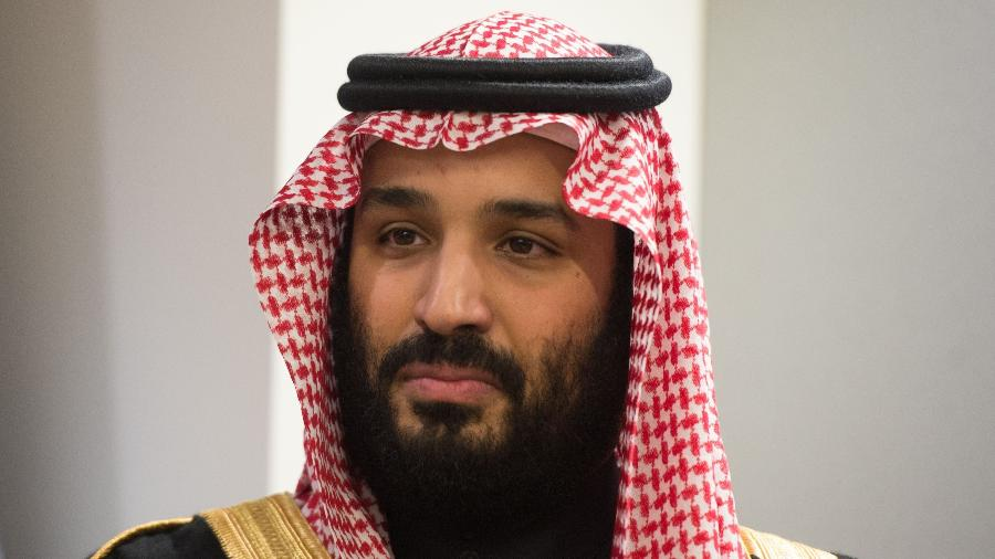 27.mar.2018 - O príncipe saudita Mohammed bin Salman Al Saud - Bryan R. Smith/AFP Photo