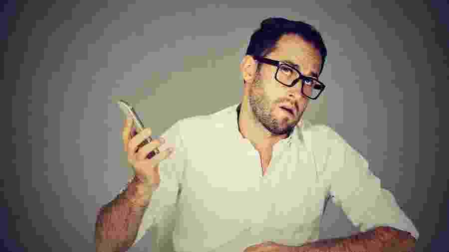 Cena comum na vida dos brasileiros: conversar com operador de telemarketing - Getty Images