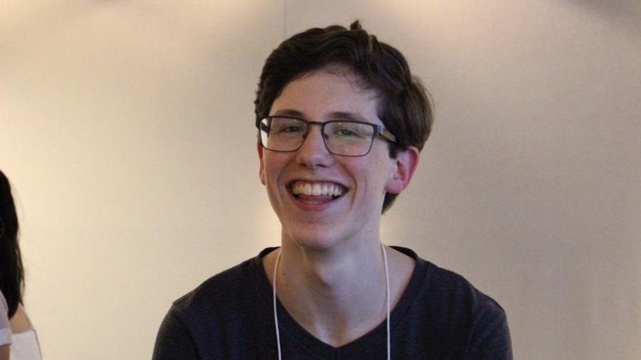 Lucas Felpi, ex-aluno do colégio Rio Branco que tirou nota mil na redação do Enem - Arquivo pessoal