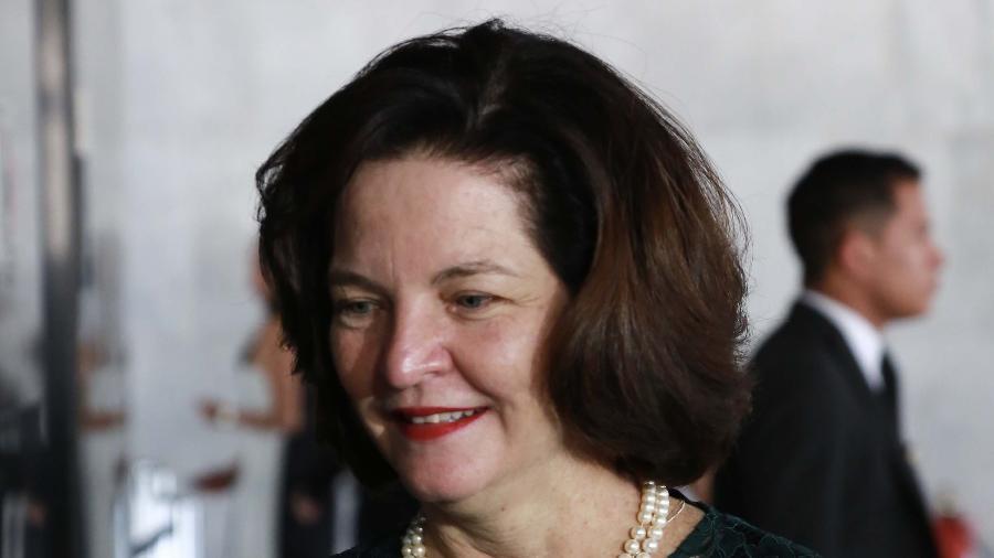 Raquel Dodge (PGR) no Palácio do Planalto em Brasília (DF) - ESTADÃO CONTEÚDO