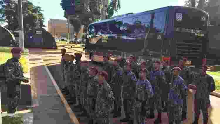 Equipe da Força Nacional embarca nesta sexta rumo a Moçambique - Divulgação/Força Nacional - Divulgação/Força Nacional