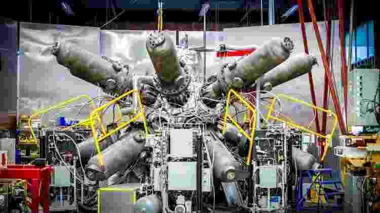 O sistema de compressão do reator da General Fusion tem enormes pistolas de pressão - General Fusion/Divugação - General Fusion/Divugação