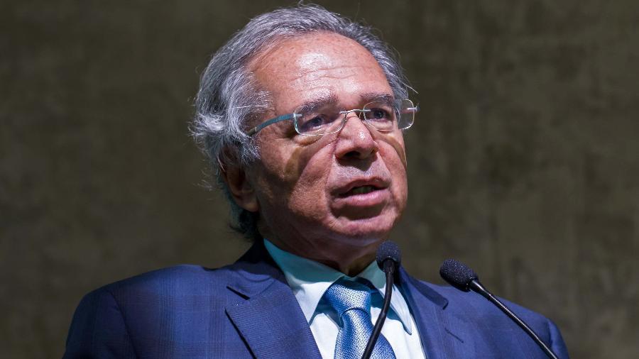 Paulo Guedes, ministro da Economia de Jair Bolsonaro - Daniel Resende/Futura Press/Estadão Conteúdo