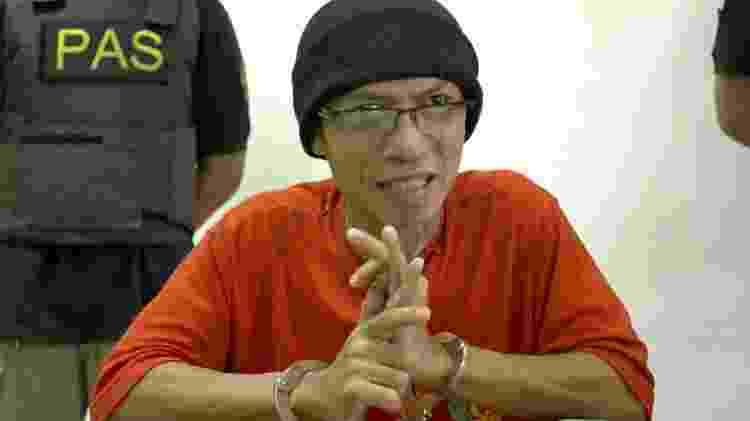 Iwan Darmawan Munto, conhecido como Rois, está sendo mantido em isolamento na prisão - BBC