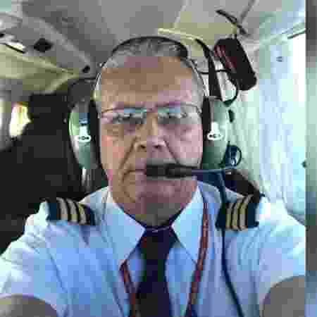 O piloto Paulo César Magalhães Rocha, conhecido com PC  - Arquivo pessoal - Arquivo pessoal