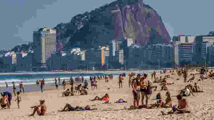 Praia do Leme - Ellan Lustosa/Código19/Estadão Conteúdo - Ellan Lustosa/Código19/Estadão Conteúdo