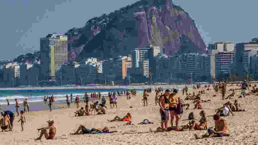 Se fosse um país, o Estado do Rio seria o 20º do mundo com mais infectados - Ellan Lustosa/Código19/Estadão Conteúdo