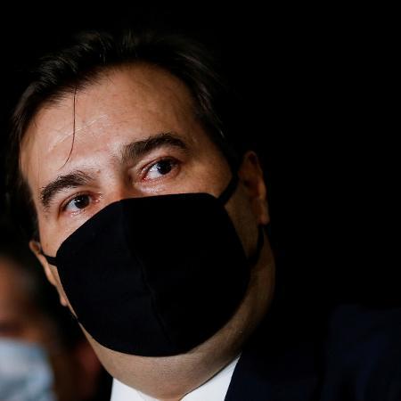 Presidente da Câmara, Rodrigo Maia, cobrou o ministro da Economia, Paulo Guedes,  sobre a tramitação lenta de pautas econômicas na Casa - ADRIANO MACHADO/Reuters
