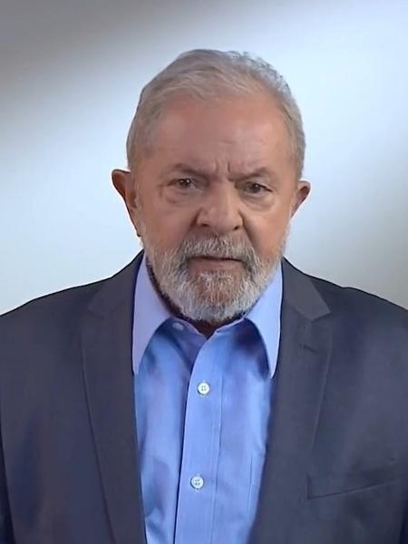 07.09.2020 - O ex-presidente Luiz Inácio Lula da Silva em vídeo divulgado no Dia da Independência - Reprodução/Facebook