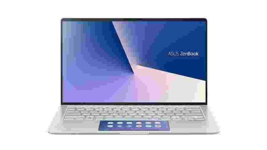 Laptop Asus Zenbook 14 (2020) - Divulgação