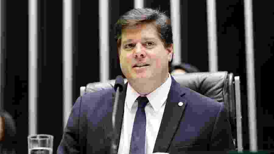 O deputado federal Baleia Rossi (MDB-SP) no plenário da Câmara - Michel Jesus/Câmara dos Deputados