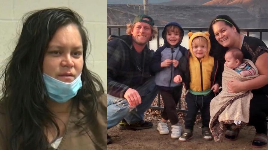 Liliana Carrillo, suspeita de assassinar três filhos, concede entrevista para TV nos EUA - Reprodução / KGET-TV / Facebook
