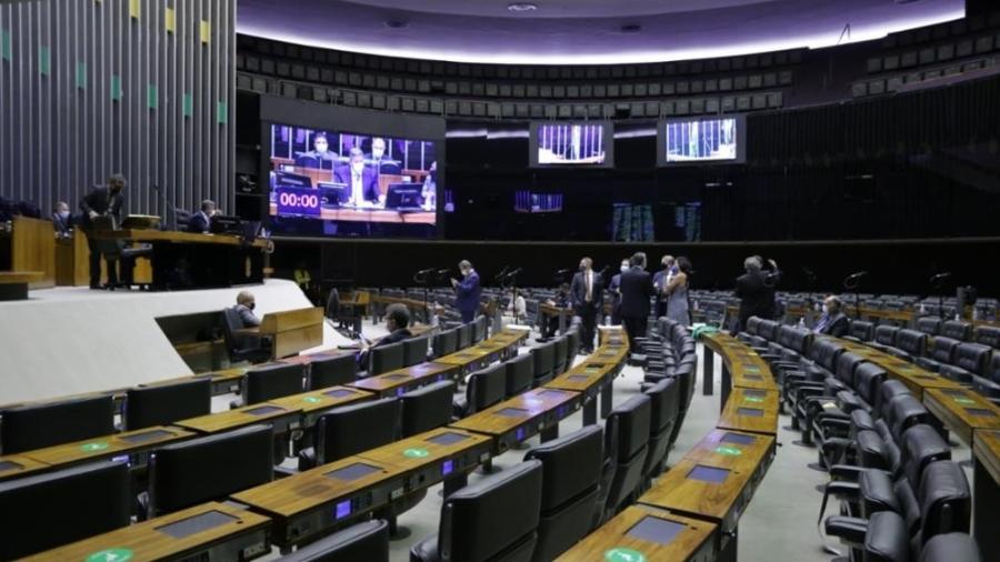 Plenário da Câmara dos Deputados durante votação do novo Código Eleitoral - Michel Jesus/Câmara dos Deputado