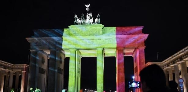 Berlim presta homenagem e dá apoio à Bélgica; veja fotos - Oss Andersen/ AFP